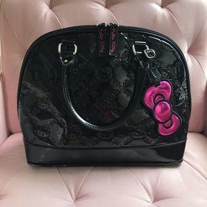 Loungefly Black hello kitty bucket bag